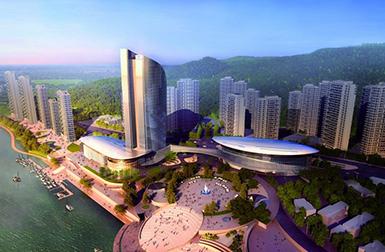杭州富阳西郊半岛