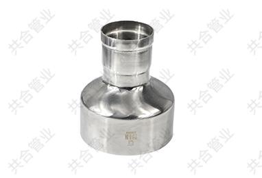 不锈钢对接焊环压过滤异径直通